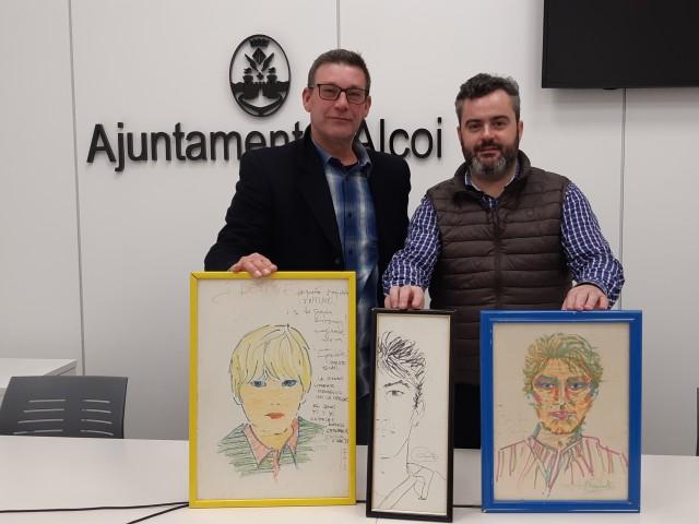 L'Ajuntament rep donacions per al futur museu de Camilo Sesto