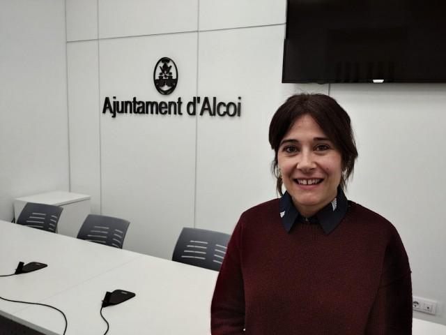 La regidora de Turisme, Lorena Zamorano.