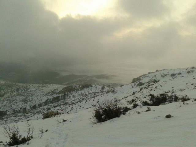Serra nevada de les nostres comarques, gener 2020 / Alberto Cortés