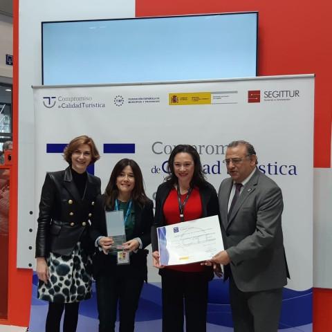Alcoi, únic municipi valencià guardonat amb els premisSICTED2020