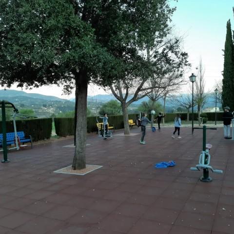 Acabada la zona d'oci al parc de Sant Hipòlit, proposta demanada pel poble