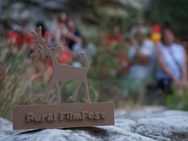 Un dels premis del Rural FilmFest / Facilitat per Comunicació Mancomunitat de l'Alcoià i el Comtat
