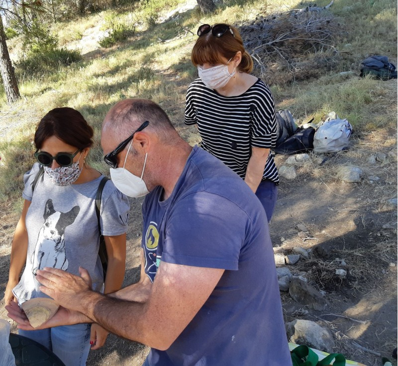 Excavacions al Castellar / Facilitat per l'Ajuntament d'Alcoi