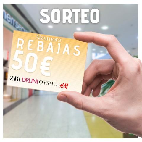 Guanya 50 euros per a gastar en el Centre ComercialAlzamora