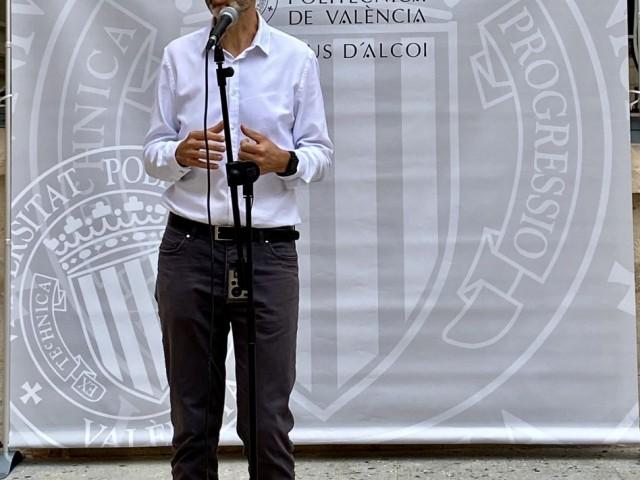 Juan Ignacio Torregrosa, director del Campus d'Alcoi de l'UPV