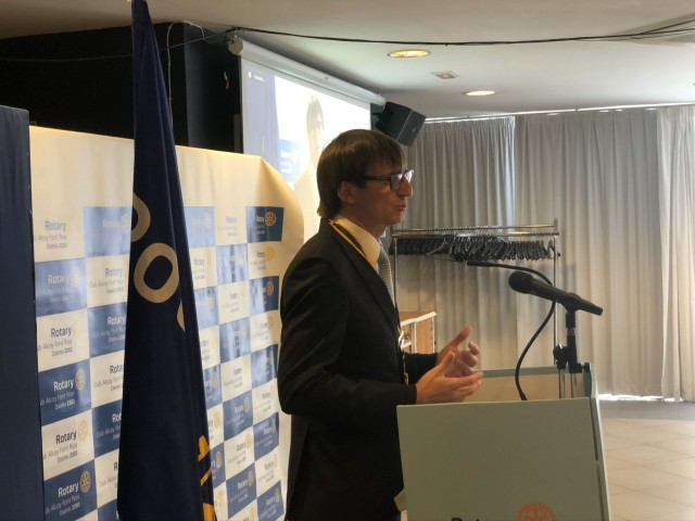 Lalo Blanes, nou president de Rotary Club Alcoi Font Roja