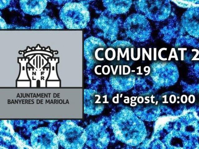 Informació COVID-19 de l'Ajuntament de Banyeres