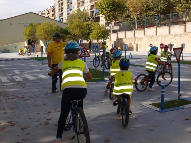Ecolars durant la campanya / Facilitat per Ajuntament d'Alcoi