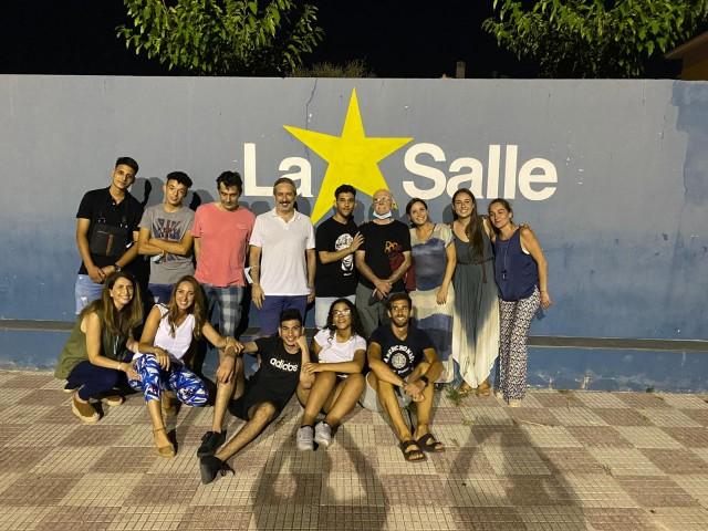 Voluntaris i joves / Rafa Carbonell