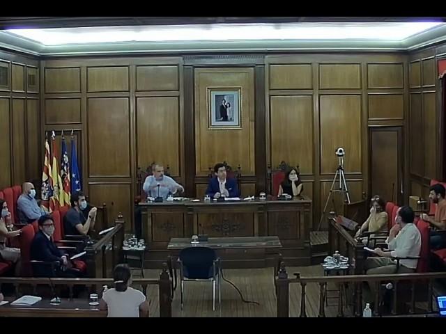 El plenari, amb mesures postcovid