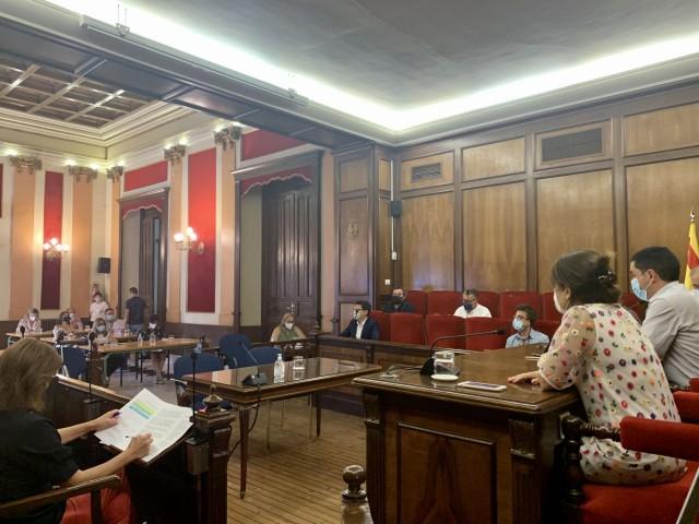 Plenari a Alcoi / Ajuntament