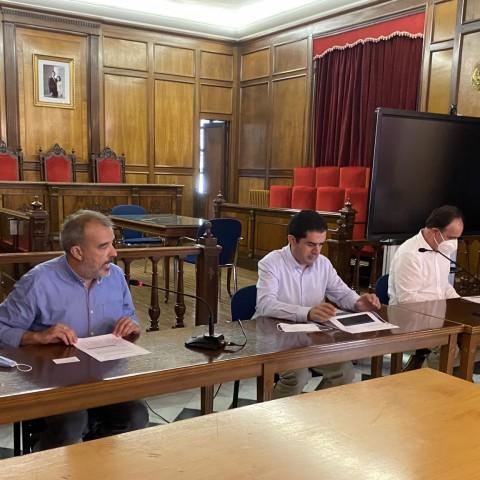 Declaracions dels representants de l'Ajuntament d'Alcoi i de José Claramonte, director general de FACSA