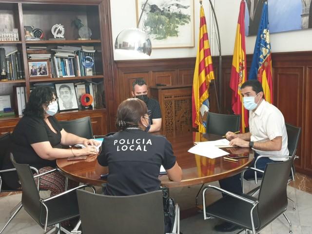 Reunió / Ajuntament d'Alcoi