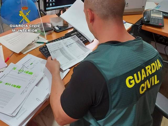 Agent de l'Equip ROCA d'IBI / Guàrdia Civil