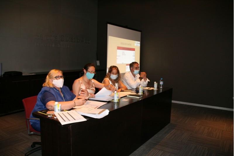 Assemblea Ordinària 2020 Associació Turisme Alacant Interior -  MCMonllor, IndiraAmaya, TeresaVivar, RamonReche