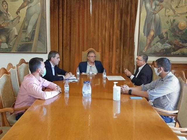 Reunió entre IBAE i Ajuntament de Castalla / Facilitat per l'IBAE