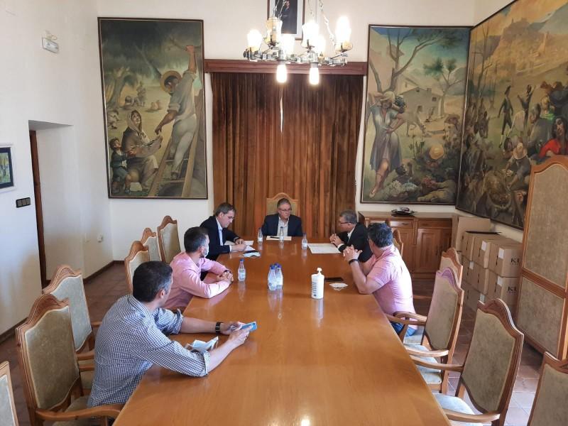 Reunió amb el conseller Climent / Aj. Castalla