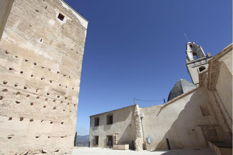 Torre d'Almudaina / Facilitat per la Diputació d'Alacant