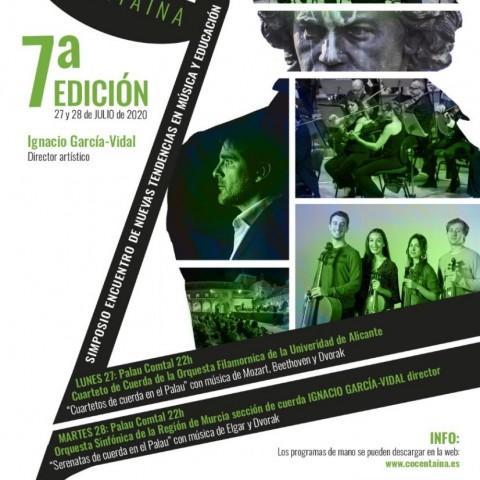 Cartell de la 7a edició de SENT-ME COCENTAINA