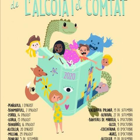 Cartell de la cinquena edició de la Ruta de Contacontes