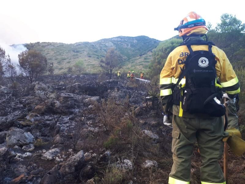 AIxí ha quedat el paratge de Vall de Gallinera