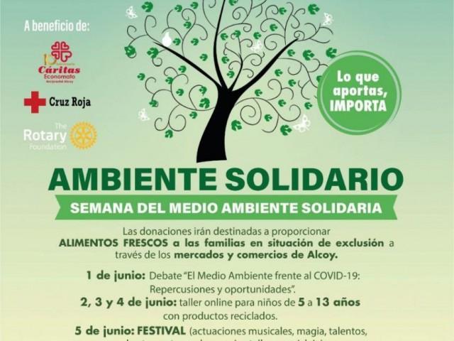 Segueix ací en directe l'Ambient Solidari delRotaryClub Alcoi Font Roja