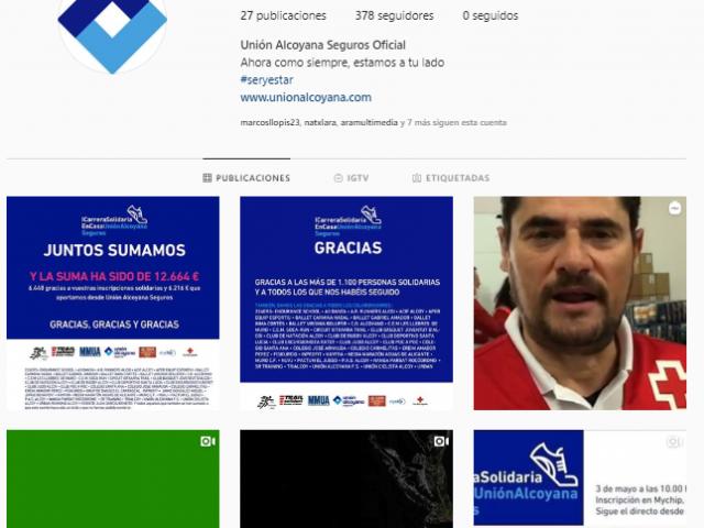 12.664 euros per a Creu Roja Respon gràcies a la I Cursa Solidària a casaUniónAlcoyana