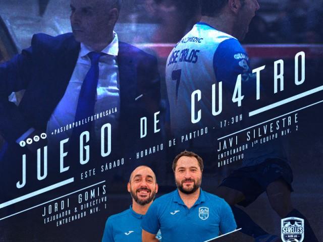 L'UniónAlcoyanaFSjuga des de casa amb el seu 'JuegodeCu4tro'