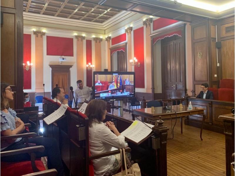 Plenari municipal d'aquest 6 de juny.