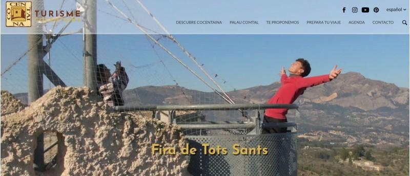 Una de les fotos a la nova web de Turisme Cocentaina