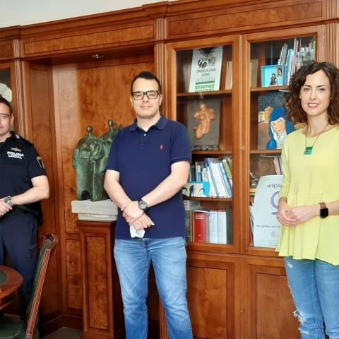 Incorporació d'un nou agent de la Policia Local a Cocentaina