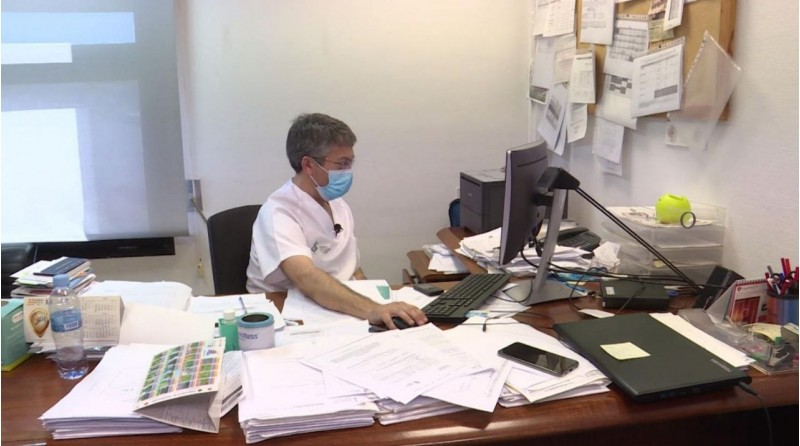 Imatge GVA: Sanitari d'atenció primària, ara dedicats a la detecció precoç i seguiment dels casos de sanitaris