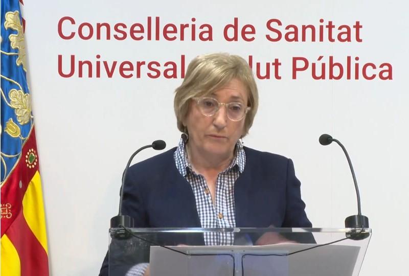 La consellera Ana Barceló a 20 d'abril.