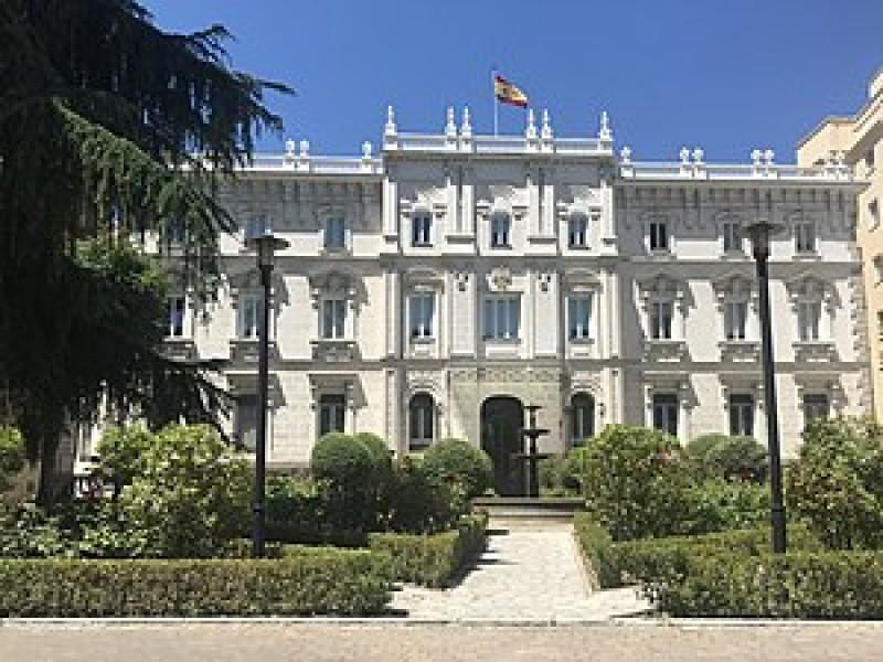 Seu de la Fiscalia General al Palau de Fontalba, imatge via Wiquipèdia