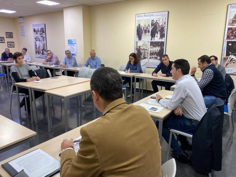Reunió del Centre Cooperació Operatiu Municipal.