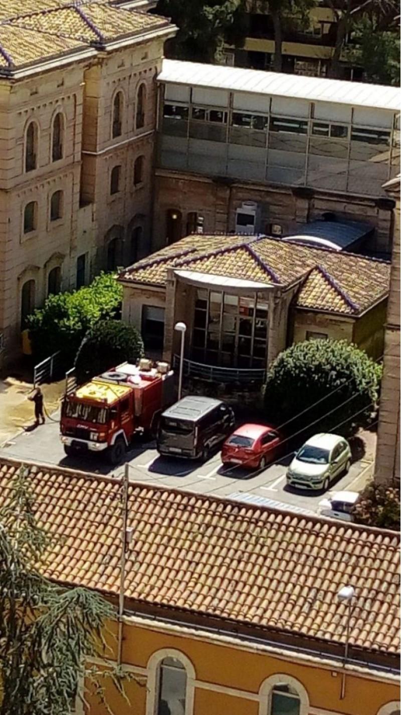 Imatge de març a la residència d'Oliver d'Alcoi, on s'han produït almenys 32 morts (última xifra oficial oferida)