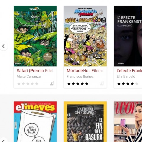 350 nous títols per a descarregar en la biblioteca virtual valenciana
