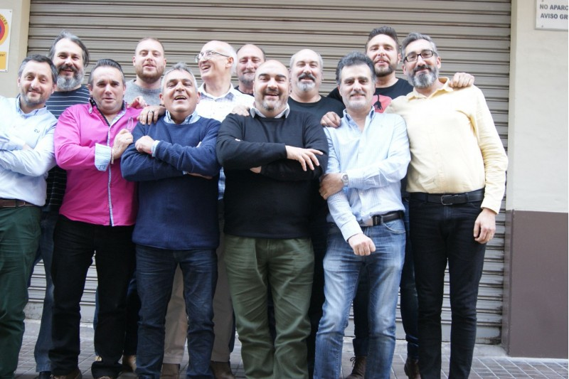 Els 13 components de l'esquadra especial dels Ligeros