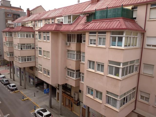 Habitatges en el barri de Santa Rosa.