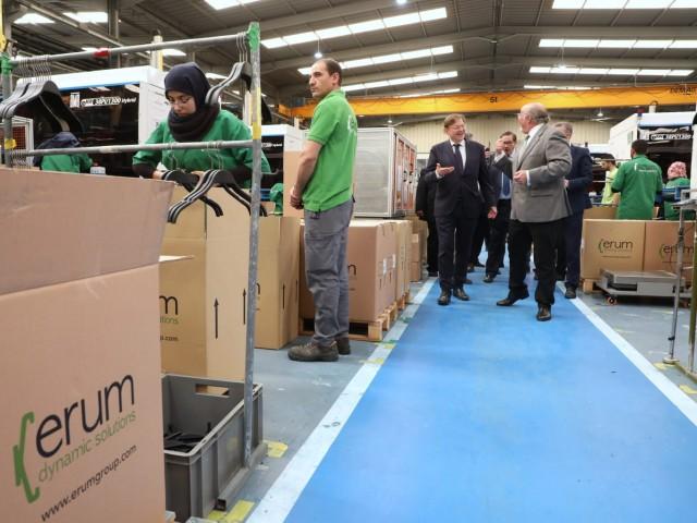 Instal·lacions de l'empresa ERUM en Marroc / IVACE Facebook