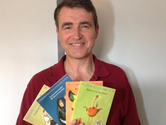 L'escriptor Jordi Raül Verdú.