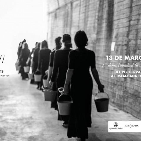 Paloma Orts portarà l'acció 'XIII' als carrers d'Alcoi