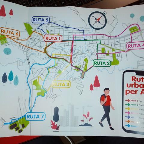 7 rutes urbanes en Alcoi per a mantenir-se en forma
