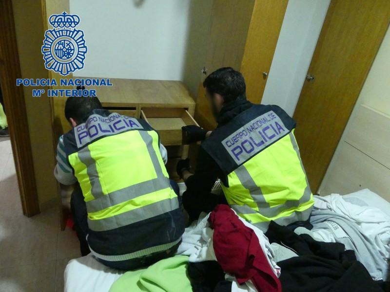 Una operació policial. Imatge d'arxiu