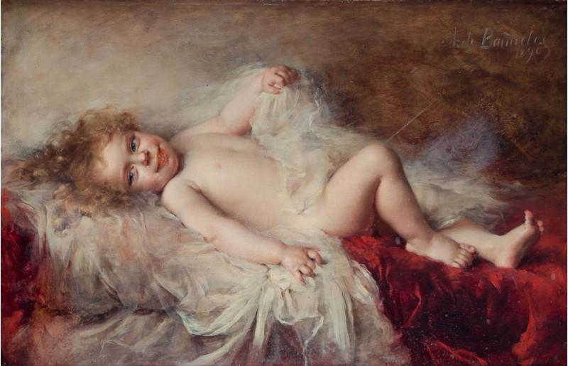 'El Despertar d'un Infant' de l'artista María Antonia de Bañuelos