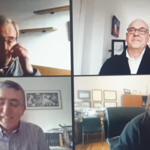 Videoconferència / Imatge facilitada per Conselleria