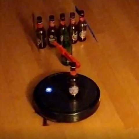 Roomba de cap batedor / AM