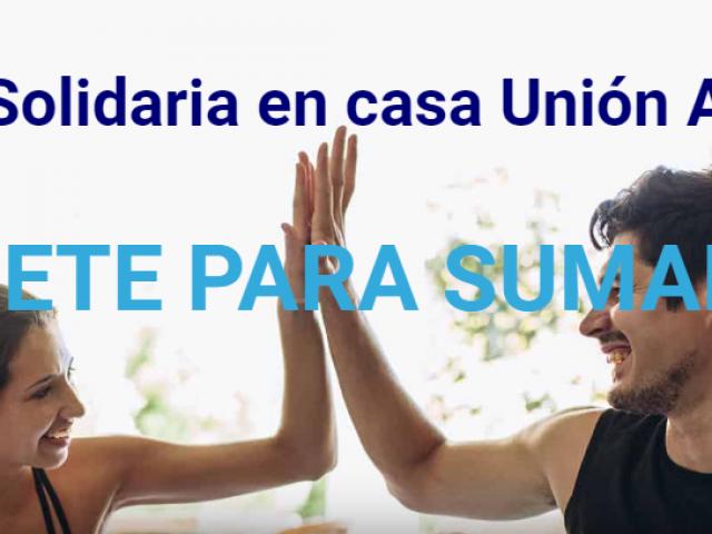 UniónAlcoyanaajuda Creu Roja amb una cursa solidària des de casa