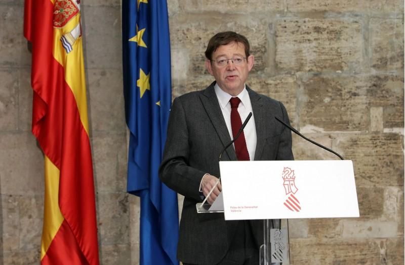 President de la Generalitat, Ximo Puig.