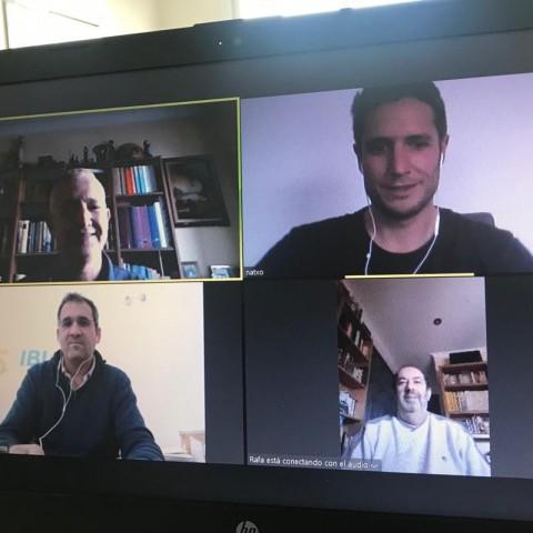 Reunió virtual entre les patronals que formen la Plataforma per la Reindustrialització Territorial